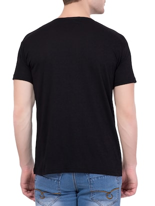 black cotton character t-shirt - 14467290 - Standard Image - 3