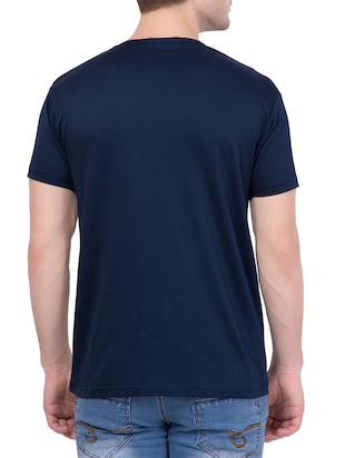 navy blue cotton character t-shirt - 14467309 - Standard Image - 3