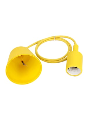 Pack of 2 Vintage Edison Tungsten Decorative Filament E 27 Holder Yellow Ceiling lamp - 14469033 - Standard Image - 3