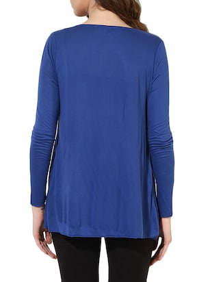 blue cotton shrug - 14469137 - Standard Image - 3