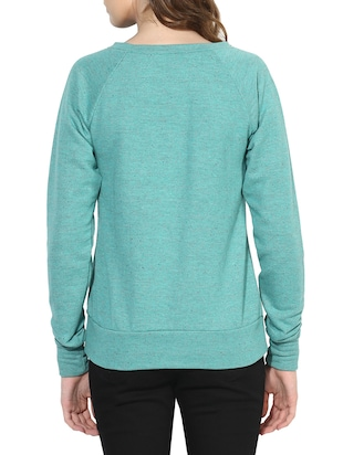 blue cotton sweatshirt - 14469154 - Standard Image - 3