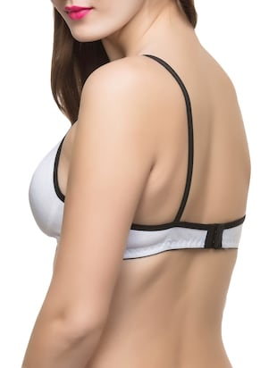 set of 2 multi colored hosery bra - 14474895 - Standard Image - 3