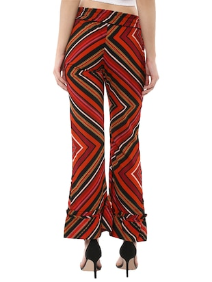 miway multi colored polyester trouser - 14476515 - Standard Image - 3