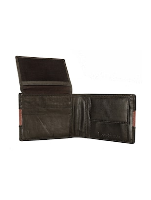 brown leather wallet - 14479252 - Standard Image - 3