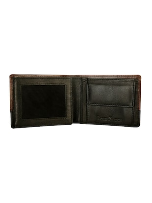 brown leather wallet - 14479258 - Standard Image - 3