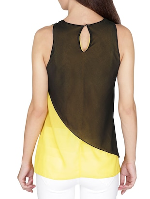 yellow Layered top - 14479543 - Standard Image - 3