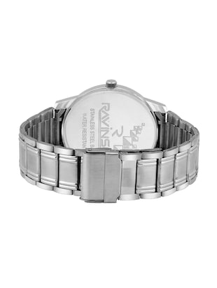 Ravinson R1702SM02D New Day Date White Dial Stainless Steel Latest Analog Watch  - For Men - 14483256 - Standard Image - 3