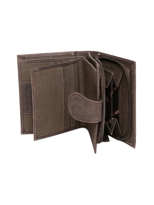 brown leather wallet - 14484638 - Standard Image - 3