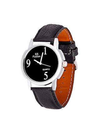 X5 Fusion Royal Black Leather Watch Set of 2 - 14487063 - Standard Image - 3