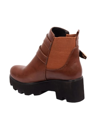 brown ankle  boot - 14494230 - Standard Image - 3