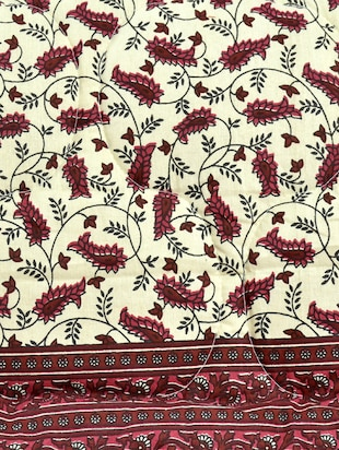 100% Cotton Jaipuri Single Quilt - 14495391 - Standard Image - 3