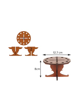 Sehaz Artworks Round-Table-Pen Stand - 14498166 - Standard Image - 3