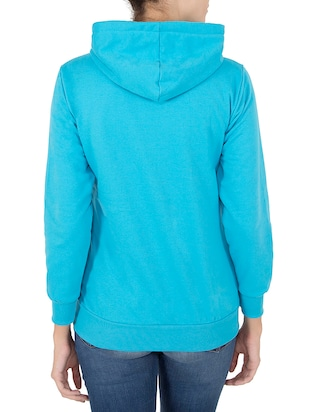 blue hooded sweatshirt - 14501289 - Standard Image - 3
