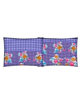 Cotton Printed Double Bedsheet with 2 Pillow Covers - 14502434 - Standard Image - 3