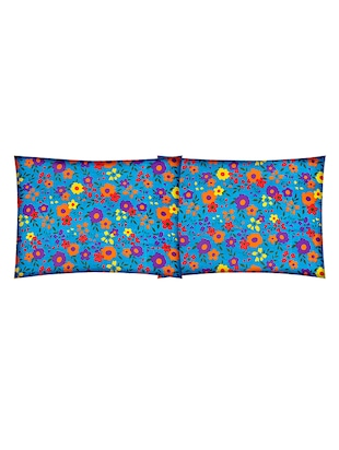 Cotton Printed Double Bedsheet with 2 Pillow Covers - 14502455 - Standard Image - 3