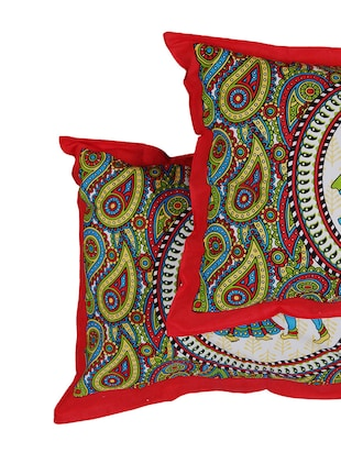 152 TC Pure Cotton Traditional Rajasthani Printed Double Bed Sheet With 2 Pillow Covers - 14502825 - Standard Image - 6