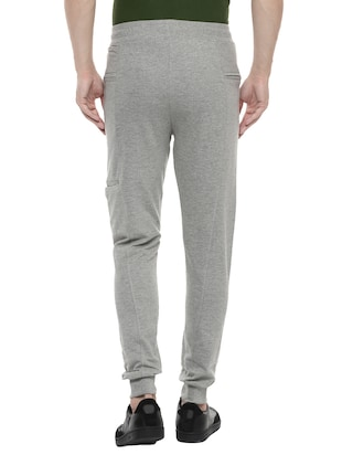 grey cotton joggers - 14504448 - Standard Image - 3