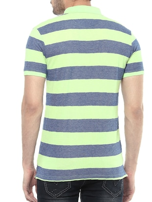 blue cotton t-shirt - 14504823 - Standard Image - 3