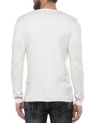 white cotton t-shirt - 14504959 - Standard Image - 3