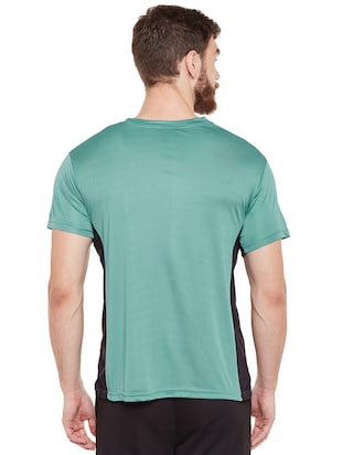 green polyester t-shirt - 14505887 - Standard Image - 3