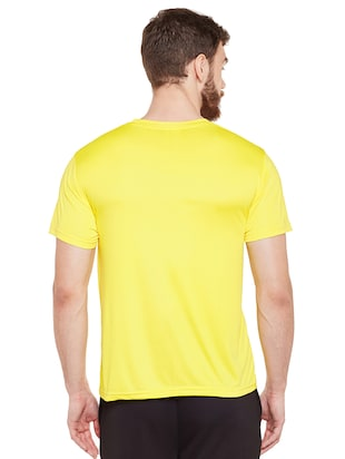 yellow polyester t-shirt - 14505900 - Standard Image - 3