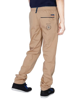 brown cotton pyjama - 14511686 - Standard Image - 3