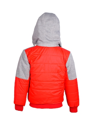 red polyester reversible jacket - 14512653 - Standard Image - 3