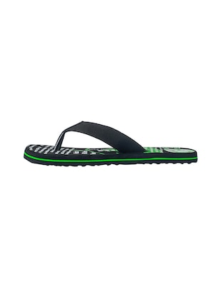c7d1adab2 Buy Black Fabric Toe Separator Flip Flops for Men from Frestol for ₹308 at  38% off