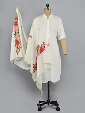 white woolen shawl -  online shopping for shawls