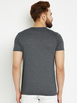 grey cotton t-shirt - 14526682 - Standard Image - 3