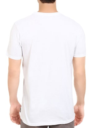 white cotton t-shirt - 14528631 - Standard Image - 3