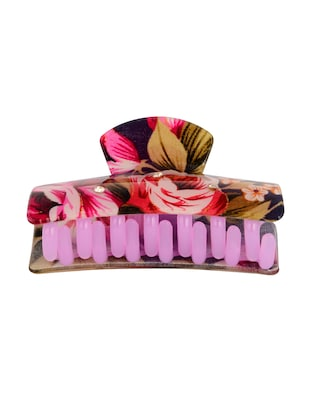 THE ETHNIC WEARS Plastic Hair Clip for Women - Set of 3 (HCC-0014) - 14528752 - Standard Image - 6