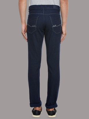 blue denim plain jeans - 14530310 - Standard Image - 3