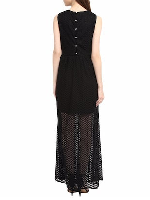 black maxi dress - 14531486 - Standard Image - 3
