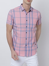 pink cotton casual shirt -  online shopping for casual shirts