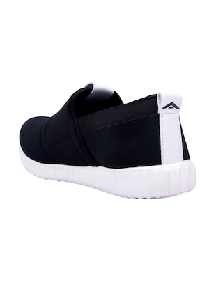 black slip on sport shoe - 14537874 - Standard Image - 3