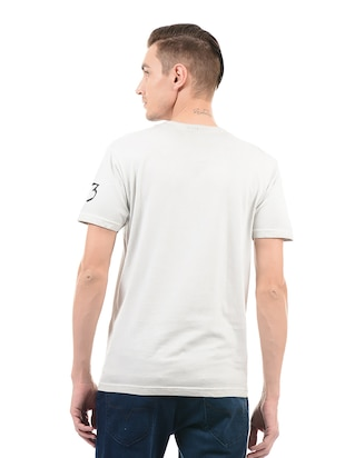 white cotton t-shirt - 14542194 - Standard Image - 3