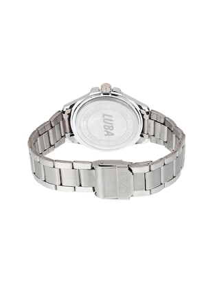 Luba stainless steel analog watch - 14544880 - Standard Image - 3