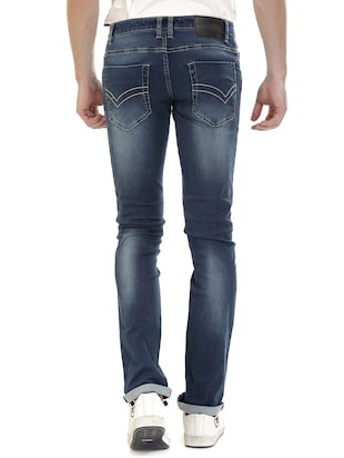 blue denim washed jeans - 14545675 - Standard Image - 3