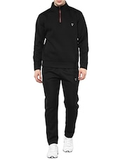 black fleece full length track suit -  online shopping for Track Suits