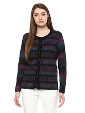 Multicolored woolen cardigan -  online shopping for Cardigans