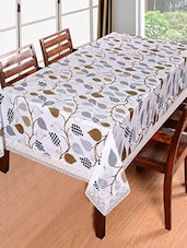 Floral Synthetic Table Cloth - By
