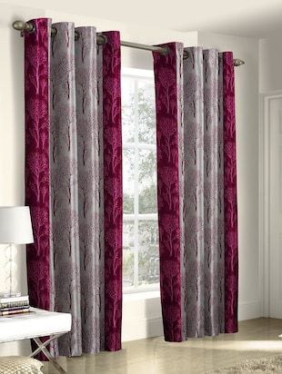 Buy Set Of 2 Designer Door Curtain by Trendz Home Furnishing - Online shopping for Curtains in India | 14945600 & Buy Set Of 2 Designer Door Curtain by Trendz Home Furnishing ...