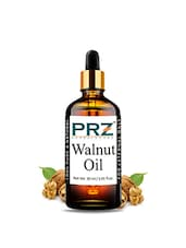 PRZ Walnut Cold Pressed Carrier Oil (30ML) - Pure Natural & Therapeutic Grade Oil For Skin Care & Hair Care - By