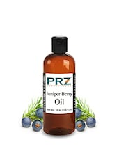PRZ Juniper Berry Essential Oil (50ML) - Pure Natural For Aromatherapy, Skin Care & Hair Care - By