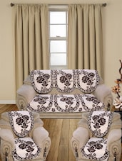 5 Seater sofa covers of multi PolyCotton premium quality By Vivek Homesaaz -  online shopping for diwan sets