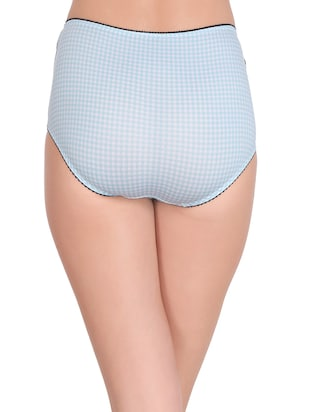 7933d86c8 Buy Blue Cotton Hipster Panty for Women from Clovia for ₹200 at 50 ...