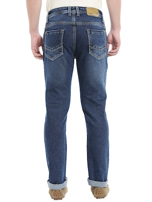 blue denim washed jeans - 14764683 - Standard Image - 3