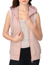 pink fleece others jacket -  online shopping for jackets