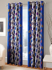 Polyester Desginer Single Door Curtain -  online shopping for Curtains